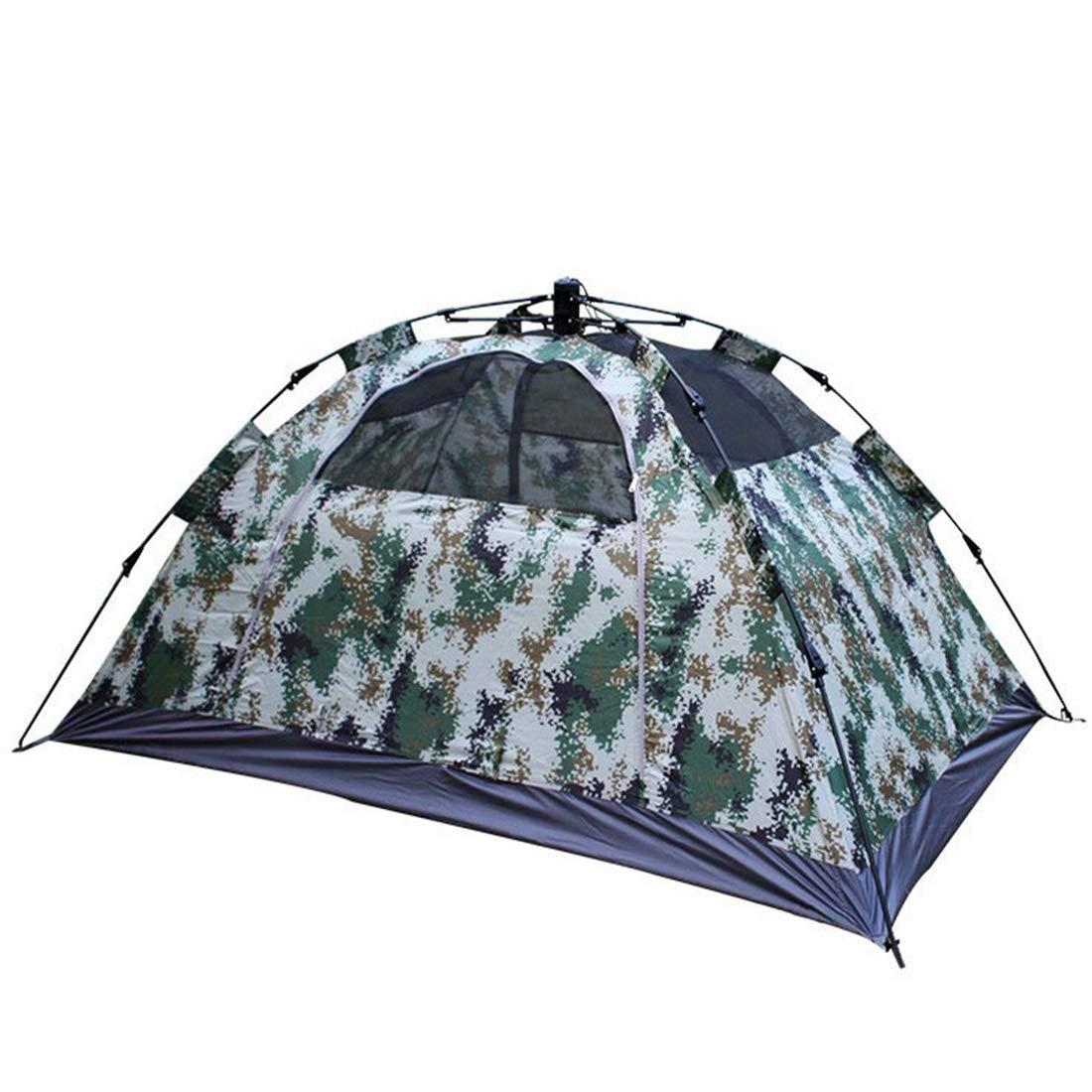 Kamiwwso Doppel-Personenzelt-Zelt-automatisches Tarnungszelt für das Kampieren im Freien (Farbe   Camouflage)
