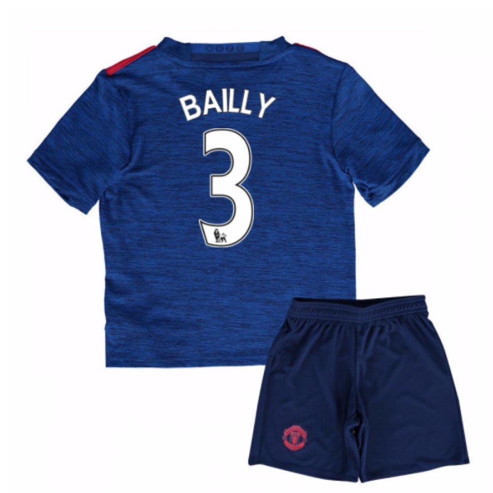 UKSoccershop 2016-17 Man United Away Mini Kit (Eric Bailly 3)