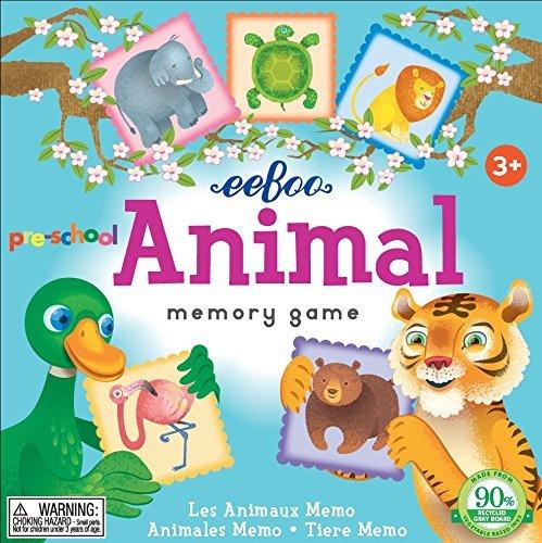Preschool Animal Memory Game 2nd Edition by eeBoo