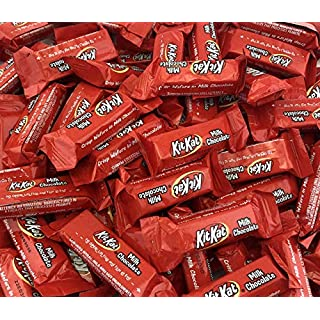 KitKat Miniatures Crisp Wafers in Milk Chocolate Snack Size (Pack of 2 Pounds), Set of 3