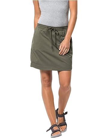 f535c3dcd1071 Jack Wolfskin Women's Desert Skort Skirt, Womens