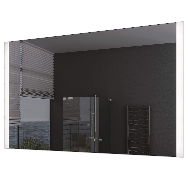 Schreiber Design® LED Badspiegel mit Beleuchtung Nubia 4000K Neutralweiß 45 cm Breit x 60 cm Hoch Licht seitlich