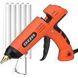 EREBUS Hot Melt Glue Gun w/ 10pcs Glue Sticks (SD-1101)