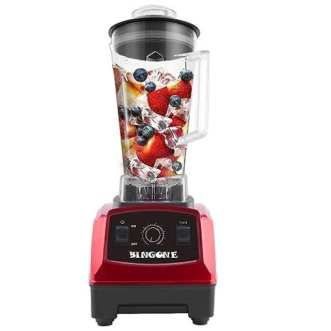 Amazon.com: BINGONE 1500 W profesional licuadora con jarra ...
