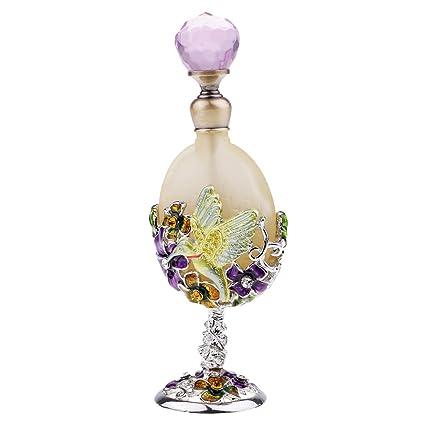 Homyl Mini 25ml Botellas de Vidrio para Perfume Aceite ...