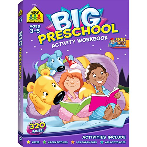 Big Preschool Activity Workbook Ages 4 & Up