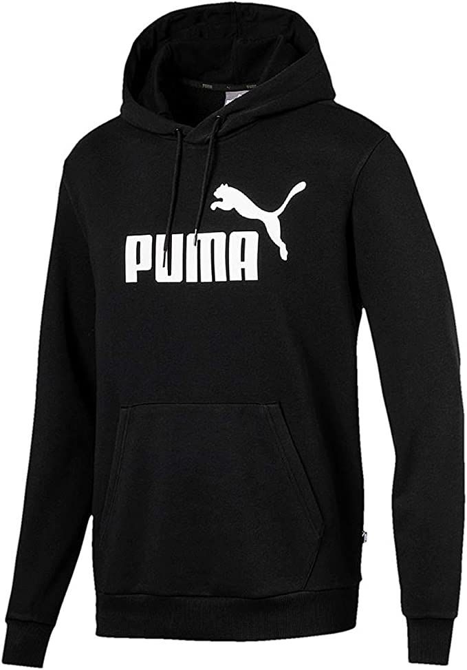 PUMA Herren Sweatshirt ESS Hoody TR Big Logo: