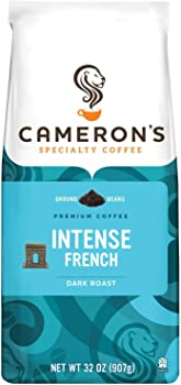 Cameron's Intense French 32 Ounce Specialty Ground Coffee Bag
