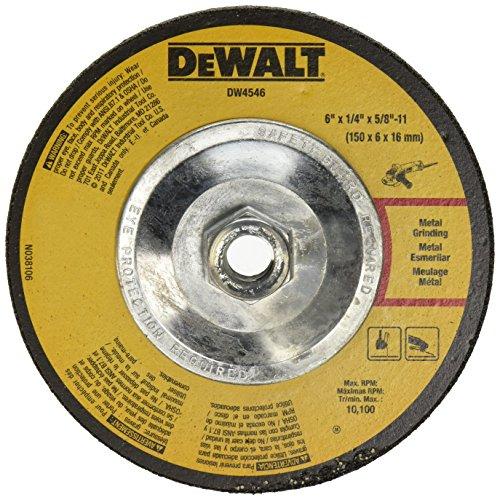 DEWALT DW4546 6-Inch by 1/4-Inch by 5/8-Inch-11 High Perform