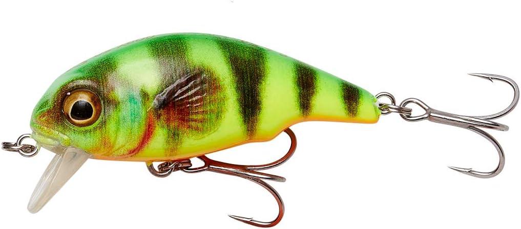 Bass Wobbler Trout /& Chub Savage Gear 3D Goby Crank SR Floating Wobbler Trout Wobbler Hardbaits for Predatory Fish Size // Weight // Colour: 5 cm // 6.5 g // Firetiger Crankbait for Perch