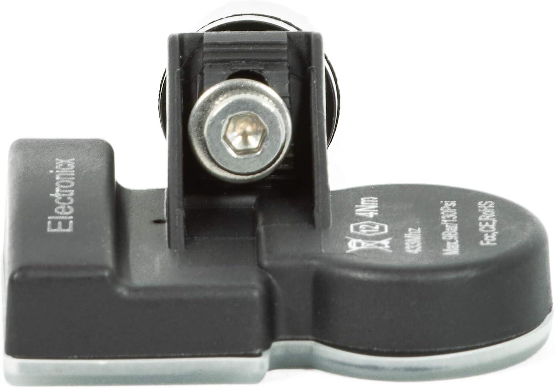 4x RDKS TPMS Reifendrucksensor Reifendruckkontrollsystem Metallventil Schwarz passend f/ür 540C 570S 600LT 720S Senna 911 918 991