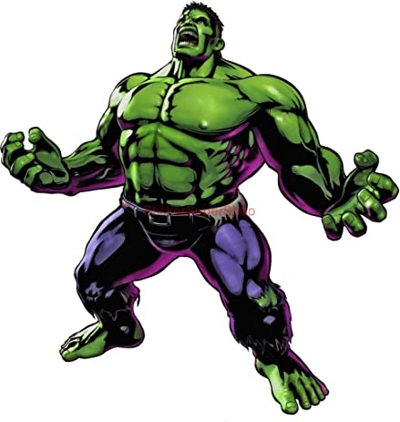 Incredible hulk decal wall sticker art home decor c487 large