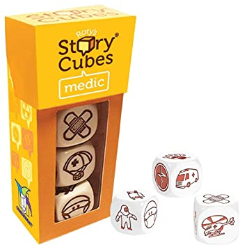 Rorys Story Cubes Medic Game