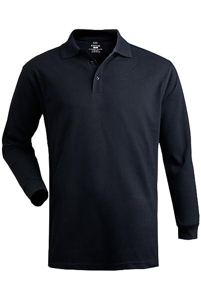 cd68cd73da8ceb Edwards Garment Women s Long Sleeve Polo Shirt at Amazon Women s Clothing  store