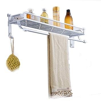 Soportes Para Toallas Barra De Toallas Almacenamiento En El Baño Cocina Sin Marco Marco De Aluminio