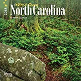 North Carolina, Wild & Scenic 2018 7 x 7 Inch Monthly Mini Wall Calendar, USA United States of America Southeast State Nature