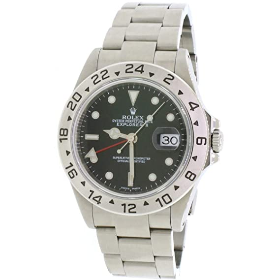 f5532b46e4d Image Unavailable. Image not available for. Color  Rolex Explorer II  Automatic-self-Wind Male Watch 16570 ...