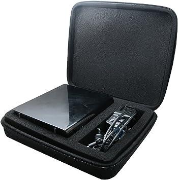 co2CREA - Caja de Almacenamiento para Disco Duro Externo Western Digital WD My Book 2 TB 3 TB 4 TB 6 TB USB 3.0, Color Negro: Amazon.es: Informática