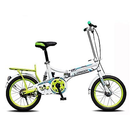 LXYFMS Bicicletas para niños Bicicletas de 16 Pulgadas ...