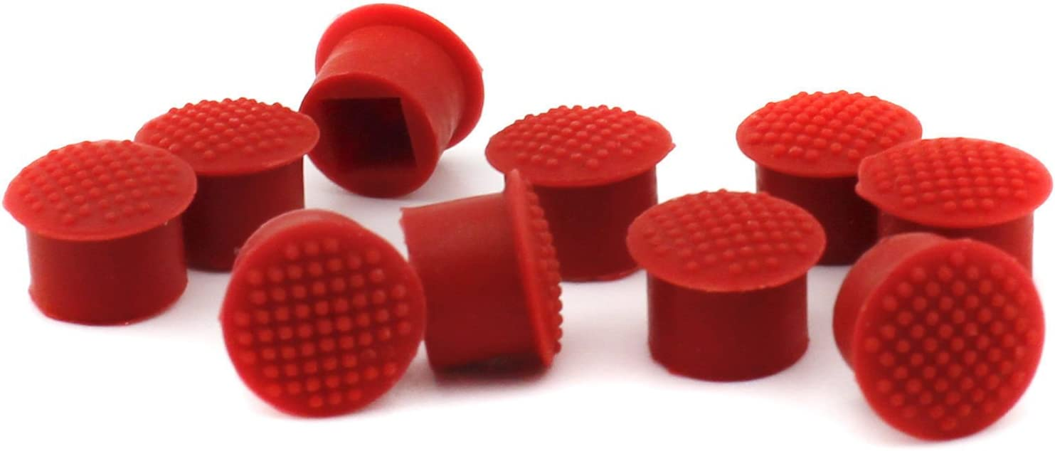 6 PCS TrackPoint Keyboard Mouse Red Cap Soft Dome Laptop Pointer for IBM Lenovo ThinkPad