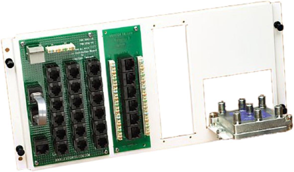 2GHz Coax Cable Leviton 47606-AHT Multi-Use Adv CAT5e Telephone /& Video Panel