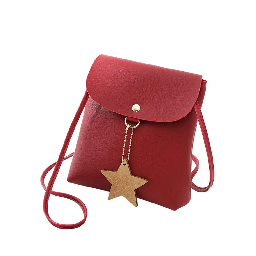 Sac De Décoration Star Pour Femme Rawdah Mode Couverture Étoile Sac Bandoulière Sac à bandoulière Téléphone Coin Sac