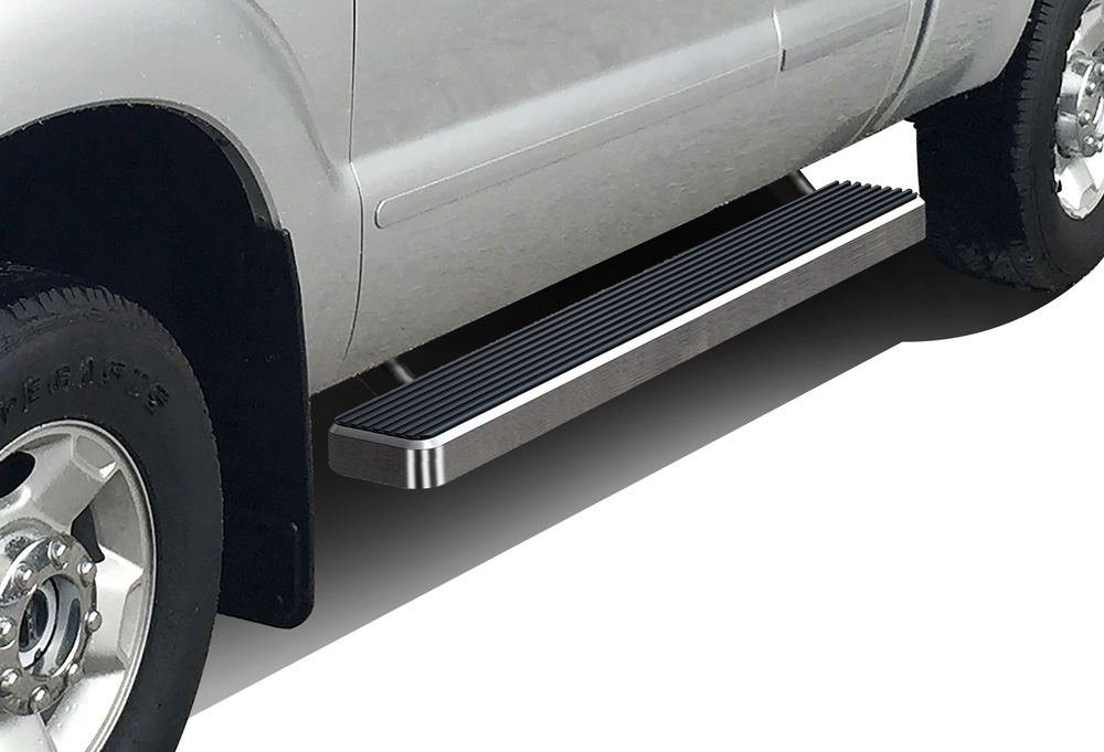 iBoard Running Boards 5' Fit 99-16 Ford F-250/F-350 SuperDuty Super Cab APS Autoparts