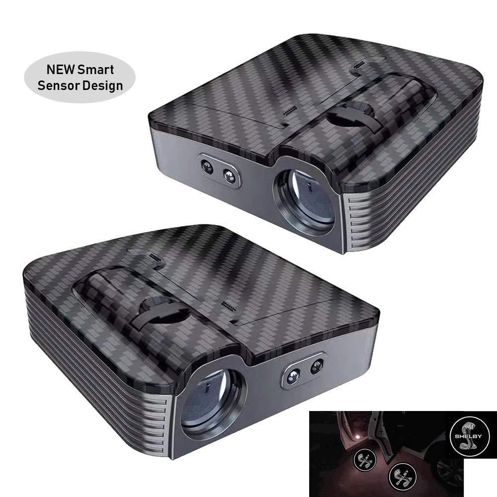 Car Door Projector Shadow Ghost Logo Light Compatible for Camaro