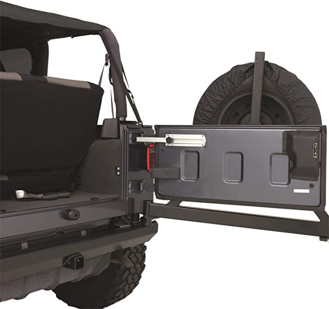 Tailgate Cover Kit Black 5662201 1997-2006 Jeep Wrangler /& Unlimited G.E.A.R