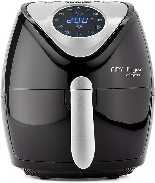 Ariete 1300 Freidora de aire digital, 1300 W, negro: Amazon.es: Hogar