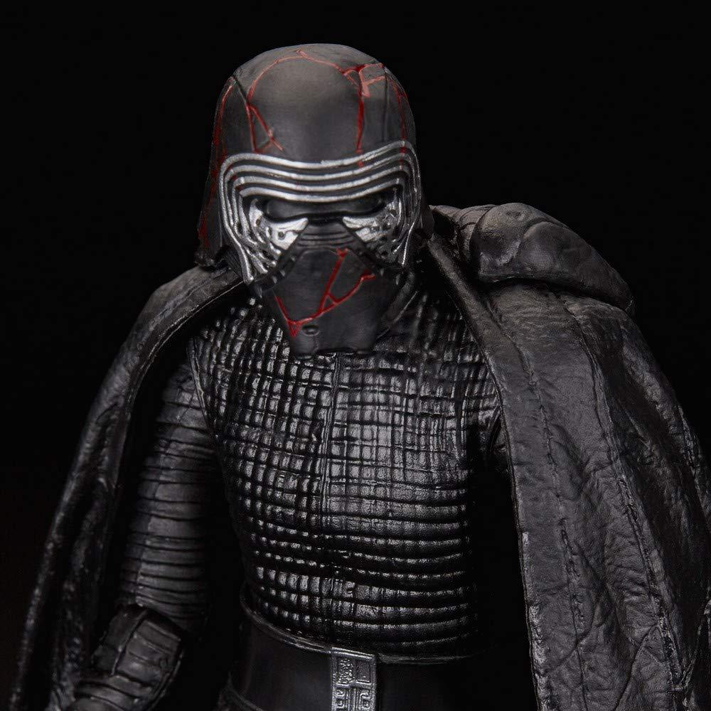 Star Wars E4076ES1 The Black Series oberster Anf/ührer Kylo Ren 15 cm gro/ße Aufstieg Skywalkers Sammelfigur