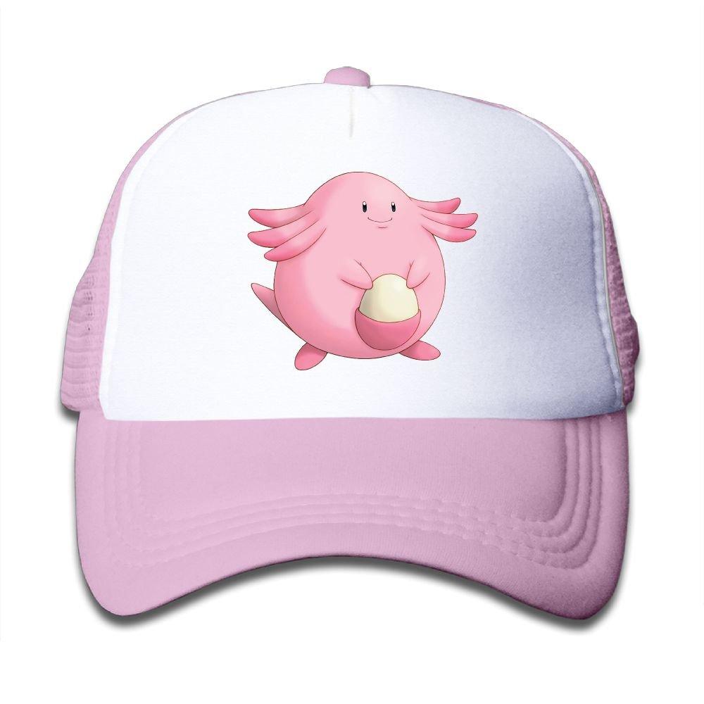 Stityshi Baseball Cap Adjustable Sunshade Trucker Grid Hat Mighty Fine Pokemon