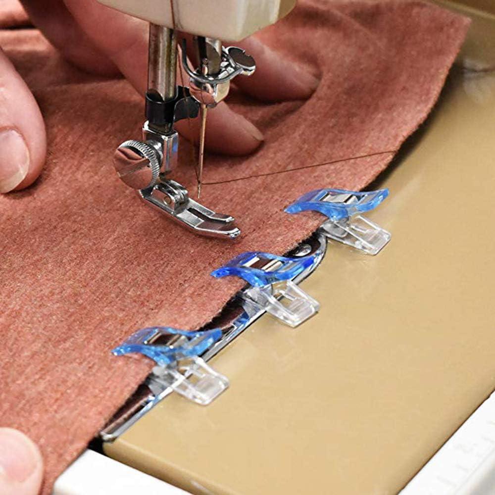 100 clips de costura multiusos en diferentes colores, perfectos para coser, manualidades, trabajo de papel y colgar pequeñas cosas: Amazon.es: Juguetes y juegos