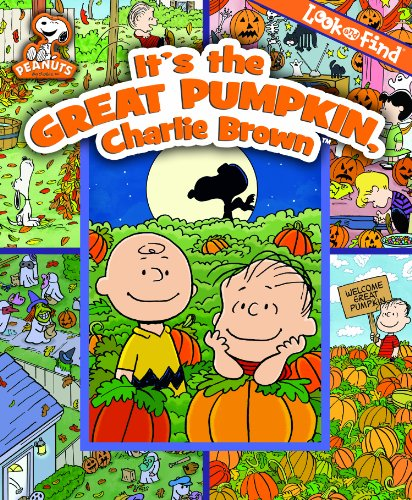 Look and Find: It's the Great Pumpkin, Charlie Brown - PI Kids -