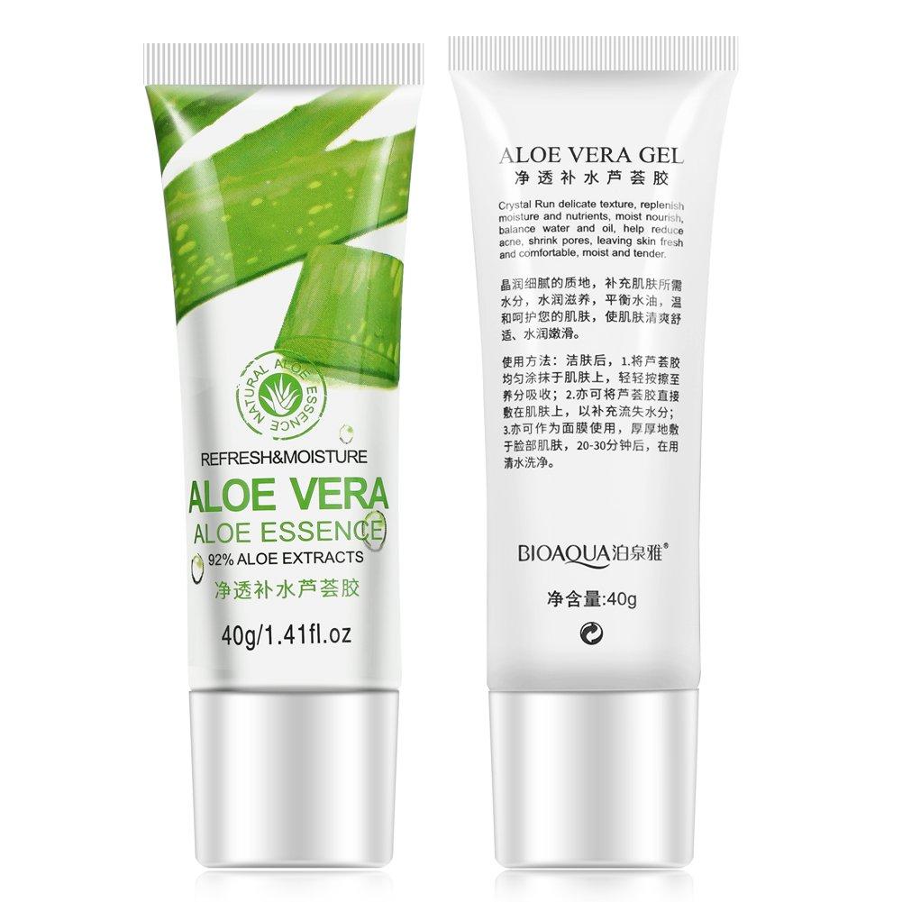 Bioaqua Aloe Vera Gel Hyaluronic Acid Anti Winkle Original Whitening Moisturizing Skin Care Facial Cream Beauty