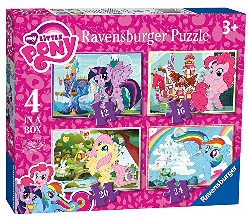 ovie 4 in a Box Puzzles (My Little Pony Puzzles)