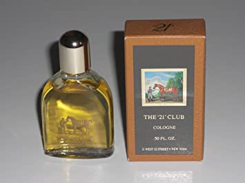 The 21 Club by Colonia Horse Racing Jockey Mini Miniature 0.5 oz Cologne for Men