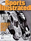 Sterling Marlin Signed Sports Illustrated Magazine - Beckett Authentication