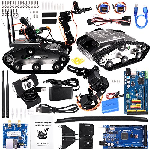 Robotica Education Programmable Toy Robot Kit Obstacle Avoidance Anti-drop Car Robot Kit For Arduino For Improving Blood Circulation Toys & Hobbies