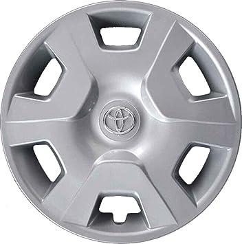 Aftermarket - Juego de 4 tapacubos para llantas de Toyota Yaris con ruedas de 14 pulgadas (año de fabricación 1998 - 2005) - Producto no original.