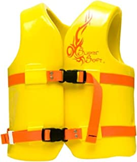 product image for TRC Recreation Kids Super Soft USCG Vest, M - Yellow, New