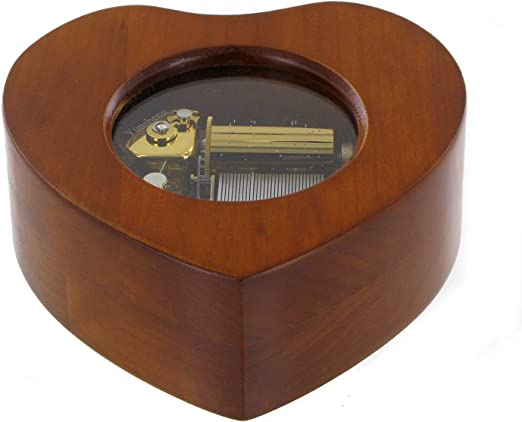 Caja de música / caja musical de madera con mecanismo musical ...