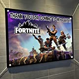 """FORTNITE Banner Video Game Controller Large Vinyl Indoor or Outdoor Banner Sign Poster Backdrop, party favor decoration, 30"""" x 24"""", 2.5' x 2', Video Game Truck Party"""