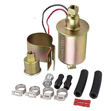 carbole 12S Universal 5 - 9 PSI Coche eléctrico Carbureted Bomba de combustible Diesel Gasolina # E8012S: Amazon.es: Coche y moto