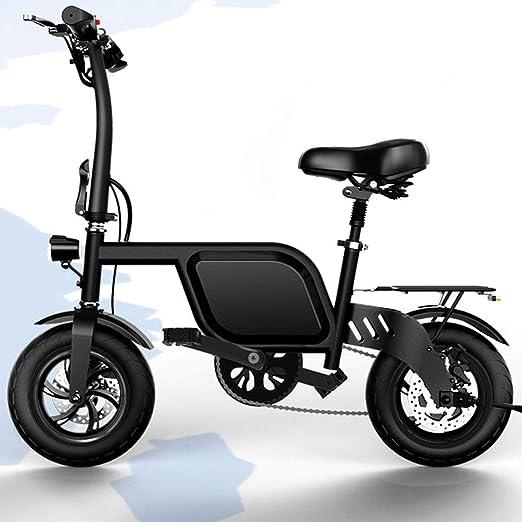 Jun Bicicleta Eléctrica para Adultos, Batería De Litio De 14 ...