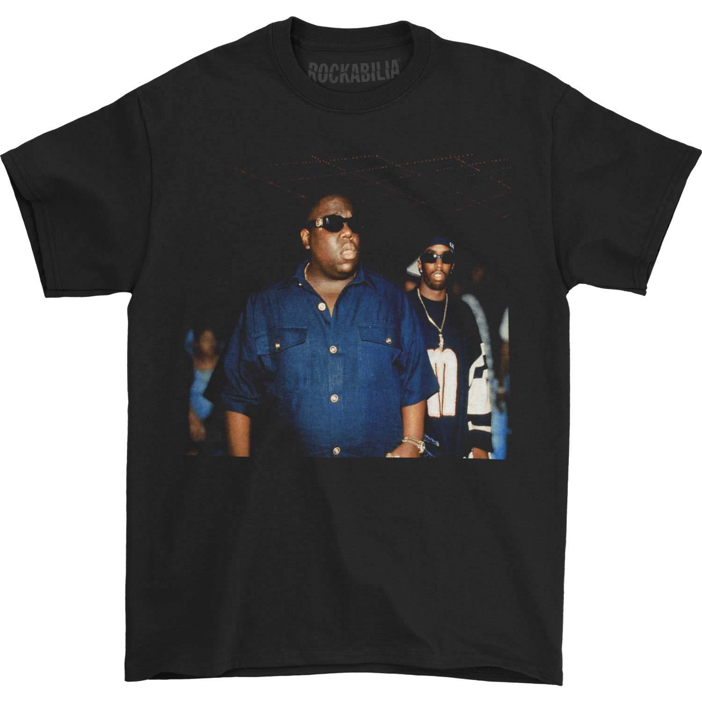 Notorious B I G S Biggie And Puff Club Black Tshirt Tshirt Black