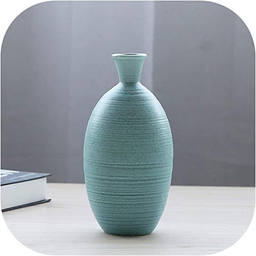 Amazon Com Modern Vases Decoration Home Ceramic Flower Vase For Dining Table Office Wedding Living Room Accessories New Pottery Vase Filler Red Home Kitchen