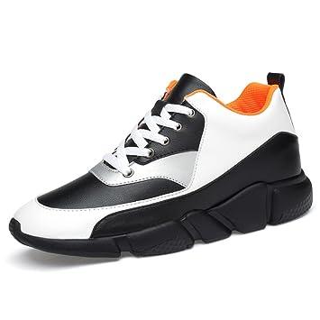 Zapatillas para Hombre Dentro de Heighten Trend Zapatillas para Correr Four Seasons Running/Camping/Zapatillas para Bicicleta Zapatos cómodos Deportivos ...