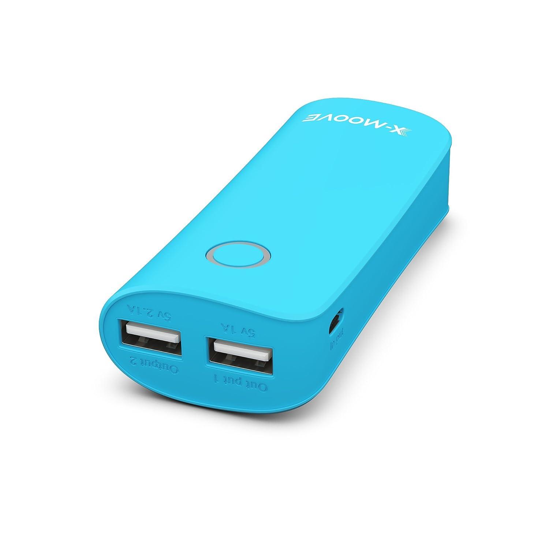 X-Moove Powergo MAX Duo - Batería Externa para Smartphone y Tablet ...