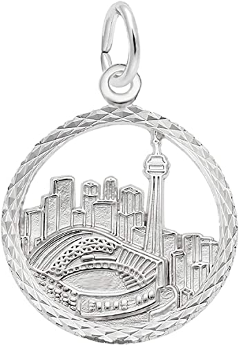 Box or Curb Chain Necklace 18 or 20 inch Rope Rembrandt Charms Sterling Silver Flat Maple Leaf Charm on a 16